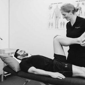 Sports physio Melbourne CBD injury treatment